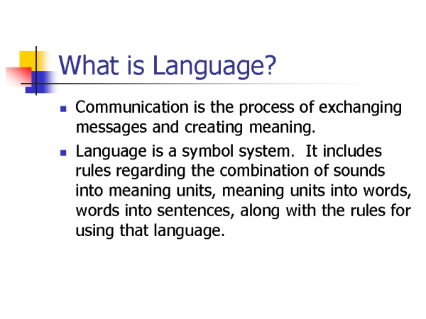 what is language � ���� � � ���